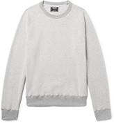 Todd Snyder Brushed Cotton-Blend Fleece Sweatshirt