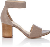Barneys New York WOMEN'S ANKLE-STRAP SANDALS-NUDE SIZE 11
