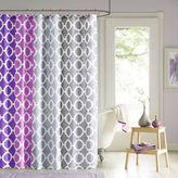 Asstd National Brand 90 by Design Lab Dani Shower Curtain and Hook Set