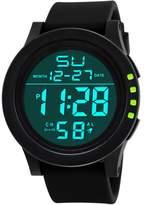 Men's Watches,ODGear Men's Digital Electronic Waterproof LED Quartz Fashion Multifunction Military Sport Watch