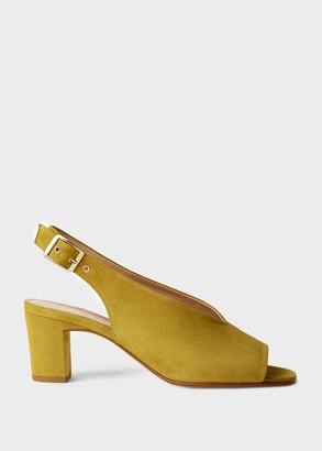 Hobbs Kali Suede Block Heel Sandals