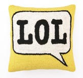 The Well Appointed House LOL Pillow - LOW STOCK, ORDER NOW!