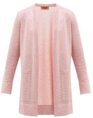 Missoni Lurex Cardigan - Womens - Pink
