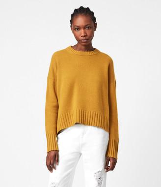 AllSaints Arun Cashmere Blend Sweater