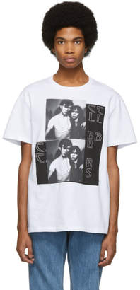 Raf Simons White Couple T-Shirt