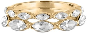 Rachel Roy Gold-Tone 2-Pc. Set Marquise-Crystal Rings