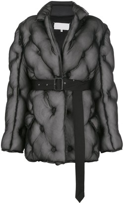 Maison Margiela layered quilted jacket