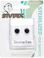 Studex Fireball Jet 6mm Earrings