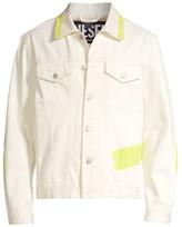 Diesel Nhill Neon Tape Denim Jacket