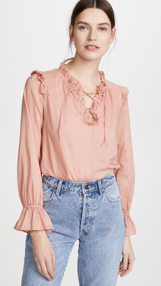 Alex Mill Ruffle Trim Tunic