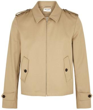 Saint Laurent Camel twill jacket