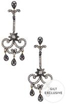 Artisan 4.20 Total Ct. Diamond Dangling Earrings