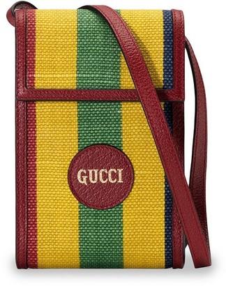 Gucci Striped Phonecase Mini Bag