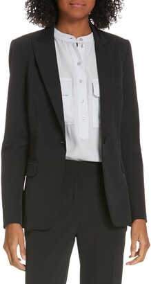 Judith And Charles Expressionist Suit Jacket