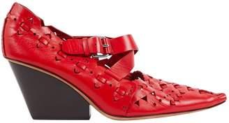 Celine \N Red Leather Heels