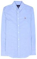 Polo Ralph Lauren Stretch-cotton blouse