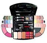Cameo Cosmetics Premium Makeup Kit Set with Multi-Layered Plastic Compact, 55 Piece