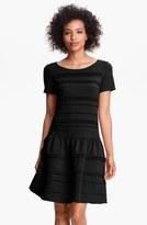 Eliza J Seamed Drop Waist Dress