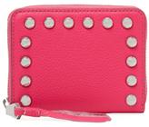 Rebecca Minkoff Ava Mini Studded Leather Zip Wallet