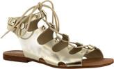 Bella Vita Women's Oriana Ghillie Gladiator Sandal