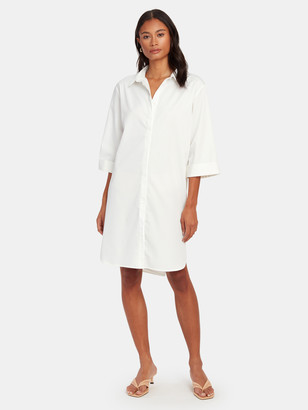 Norr Emily Oversized Shirt Dress