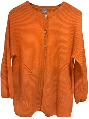 Ftc Cashmere Orange Cashmere Knitwear for Women
