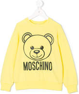 Moschino Kids teddy print sweatshirt