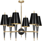 Jonathan Adler Versailles Chandelier with Painted Shade