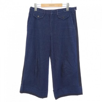 N°21 N21 Blue Cloth Trousers for Women