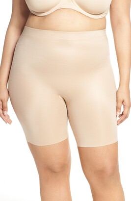 Spanx Suit Your Fancy Booty Booster Mid-Thigh Shorts