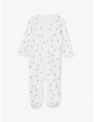 Ralph Lauren Polo bear cotton babygrow 0-9 months