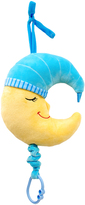 Blue Good Night Moon Pull-String Toy