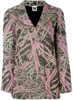 M Missoni metallic knit blazer