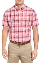 Cutter & Buck Men's Big & Tall Adobe Regular Fit Plaid Sport Shirt