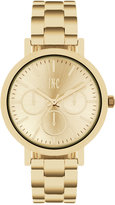 INC International Concepts Women's Gold-Tone Bracelet Watch 38mm IN015G, Only at Macy's