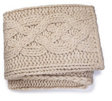 "UGG Oversized Wool Blend Knit Blanket - 50"" x 70"""