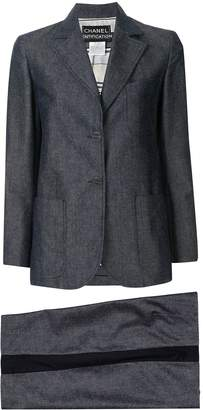 Chanel Pre-Owned two-piece shorts suit