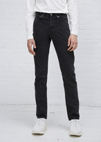 Our Legacy black rinse first cut jean