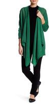 DKNY Long Sleeve Modern Cozy Wool Cardigan