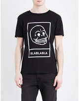 Cheap Monday Skull-print Cotton-jersey T-shirt