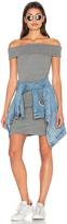 Pam & Gela Off Shoulder Dress