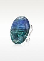 Antica Murrina Veneziana Drop - Oval Murano Glass Ring