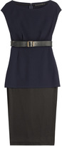 Donna Karan New York Dress with Leather Belt