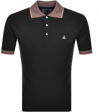 Vivienne Westwood Short Sleeved Polo T Shirt Black