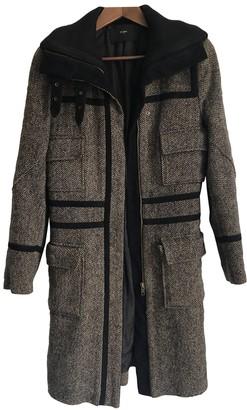 Et Vous Multicolour Wool Coat for Women