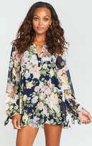 MUMU Johanna Tunic ~ Party Blossom