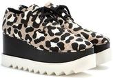 Stella McCartney Elyse printed platform derby shoes