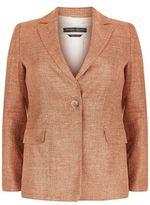 Marina Rinaldi Woven Blazer Jacket