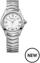 Ebel Wave White Dial Stainless Steel Bracelet Ladies Watch