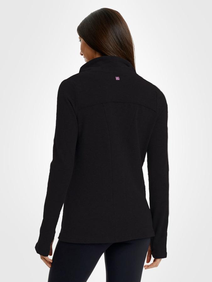Zobha Asymmetrical Draped Jacket